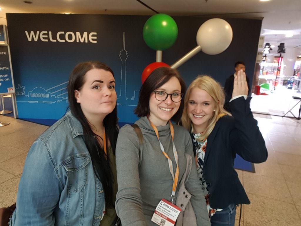 Christiane, Romina und Louisa auf der K 2016