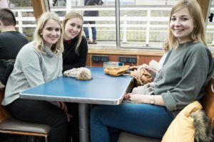 Im Boot auf den Grachten von Amsterdam